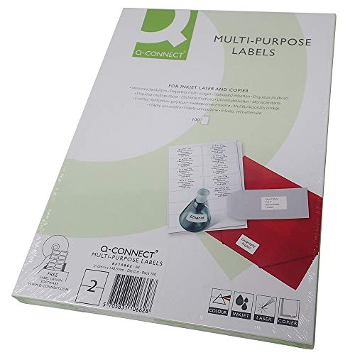 Connect Self-adhesive labels 210 x 148.5 mm