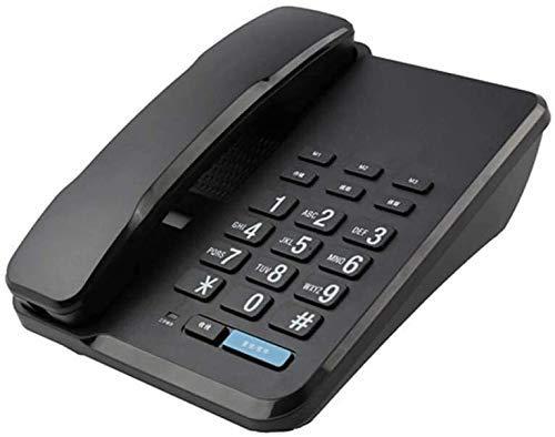 YUBIN Teléfono Teléfono para el hogar Teléfono Retro para la Moda Fija de la línea Fija Cuerda Creativa DISTAL Oficina Hombre Land Lineal (Color: F) (Color : F)