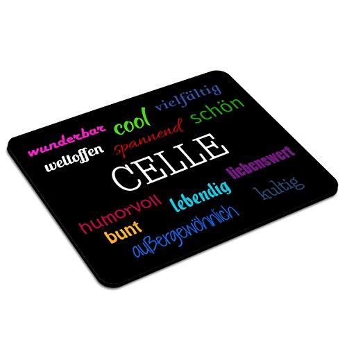 Mousepad Celle personalisiert - Motiv Positive Eigenschaften - Städtemousepad, personalisiertes Mauspad, Gaming-Pad, Maus-Unterlage, Mausmatte