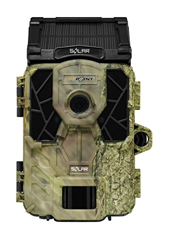 SPYPOINT SOLAR 12MP Trail Camera, Built-in Battery