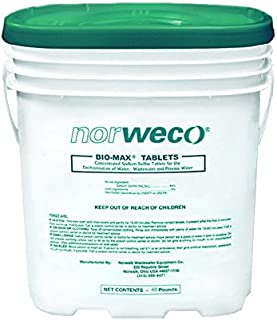 Norweco Bio-Max Dechlorination Tablets 48lb - 92% Sodium Sulfite