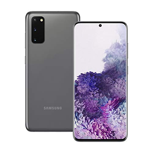 Samsung Galaxy S20 5G Android Smartphone - SIM Free Mobile Phone - Cosmic Grey (UK Version)