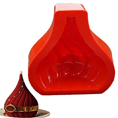BGREN Maison Russe dôme Forme gâteau Silicone Moule Bricolage Chocolat antiadhésif Four Maison Outils de Cuisson pour Cuisine Cuisson Pain décoration-Une