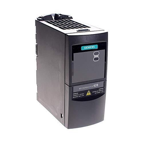 VARIADOR DE FRECUENCIA SIEMENS MICROMASTER 420 MONOFÁSICO 220V 0,75 KW / 1 CV