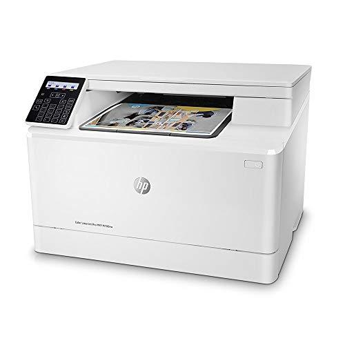 Impressora Multifuncional, HP, Color LaserJet Pro M180NW, T6B74A, Laser, Branco