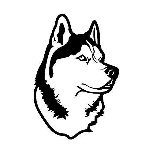 DKRETS Etiqueta de Perro Mascota, Etiqueta de carrocería Husky,2pcs
