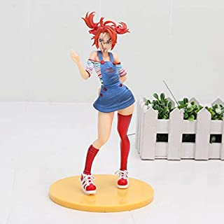 Bride of Chucky Horror Bishoujo Statue She Wants You for A Best Friend PVC Action Figure Collectible Model Toy 18cm