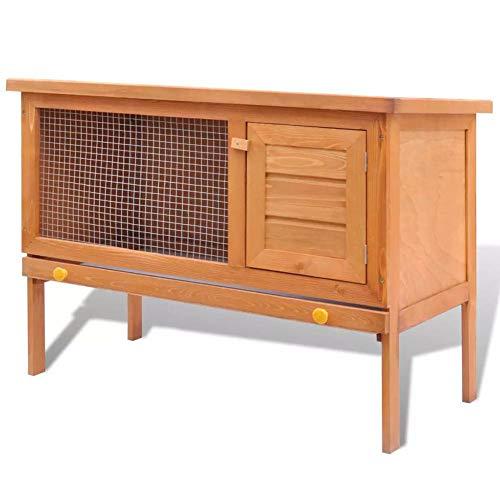 Estink Cage d'extérieur pour animal domestique - 1 couche - 90 x 45 x 65,5 cm