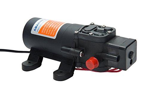 Amarine Made 12v Water Pressure Diaphragm Pump 4.3 L/min 1.1 GPM 35 PSI - Caravan/rv/Boat/Marine