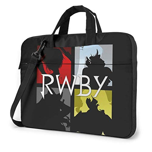 15.6″Lightweight Laptop Notebook Shoulder Backpack Bag RWBY Waterproof PC Briefcase Messenger with Strap