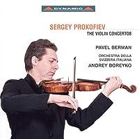 プロコフィエフ:ヴァイオリン協奏曲第1番, 第2番/2つのヴァイオリンのためのソナタ ハ長調 Op. 56 (ベルマン/ティフ)