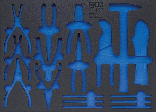 BGS 4011-5 Werkstattwageneinlage 3/3, 192-tlg, 6,3 mm (1/4