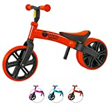 Yvolution Y Velo Junior Toddler Bike | No-Pedal Balance Bike | Ages 18 Months to 4 Years (red New)