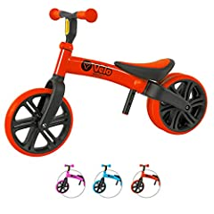 🏆 IT'S MORE THAN JUST A BIKE - Help your kids learn the essential first skills needed to riding a bike. Toddlers love the independence and sense of achievement they get from riding a balance bike. It also build their motor skills, coordination and in...
