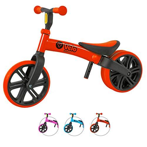 YVOLUTION Yvelo Y Velo Junior Balance Bike Lernlaufrad Kinderlaufrad - rot - Alter 18 Monaten bis 4 Jahren