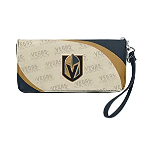 Littlearth NHL Vegas Golden Knights Wallet Curve Organizer Style, Team Colors, One Size from Littlearth