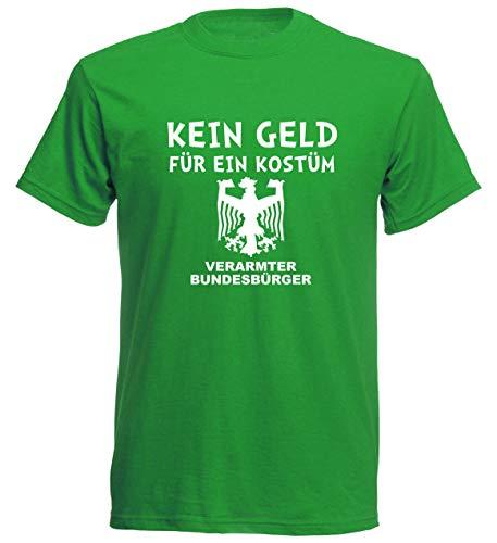 aprom T-Shirt Kein Geld für EIN Kostüm Karneval Fasching Gruppenkostüm JGA (XL)