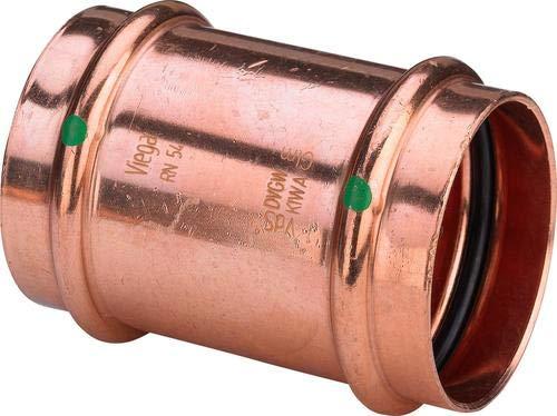 Profipress Schiebemuffe 15 mm für Trinkwasser Viega 461256