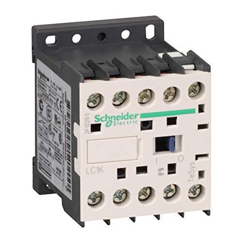 Schneider LC1K0610P7 Leistungsschütz, 3P+1S, 2, 2kW/400V/AC3, 6A, Spule 230V 50/60Hz