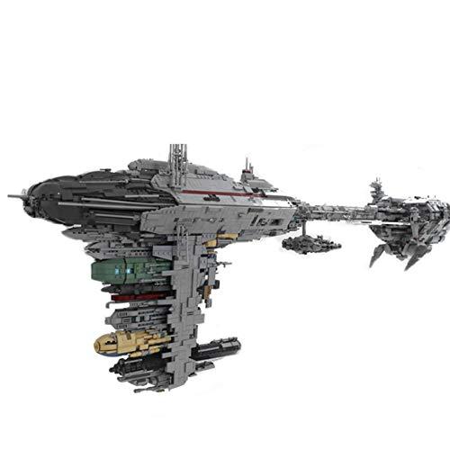 5724 PCS UCS Nebulón-B Médica Fragata Bloque RC Car Kit, MOC-5083 Model Building Blocks Compatible con Lego, Ladrillos del Juguete para Adultos Y Kid