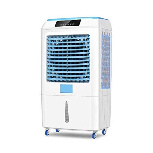 Enfriador de Aire portátil 3 en 1 con Tanque de Agua de 40L 200W Viento Grande con función de purificación de humidificador Ventilador de enfriamiento rápido para Cocina