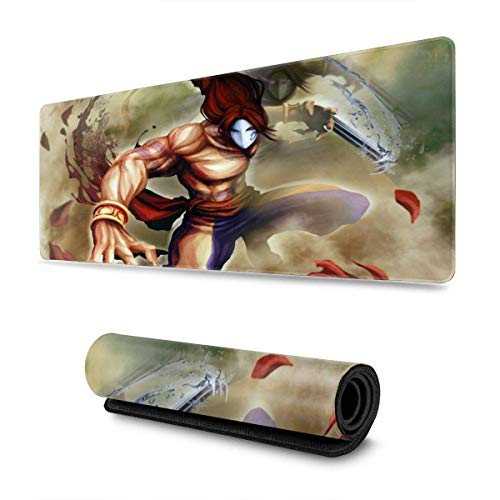 Street Fighter X Tekken XXL Gaming Mouse pad Non-Slip Large Thick Version Stitched Edges Long mat for Players or Offices