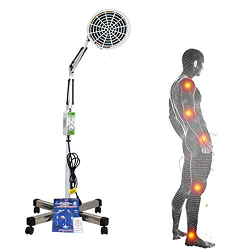 TDP Heating Floor Lamp with Knob To Adjust Temperature for Thermotherapy Muscle Pain Relief Accupuncture Beauty Treatment