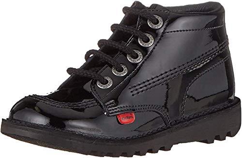 Kickers Unisexs Kick Hi Core Ankle Boots Black 6 UK 39 EU