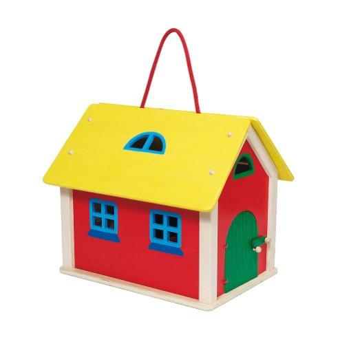 Goki 51916 - Koffer Farmhaus mit Zubehör
