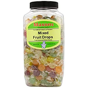 maxons mixed fruit drops jar 2.27 kg Maxons Mixed Fruit Drops Jar 2.27 Kg 41HWwIiSjXL