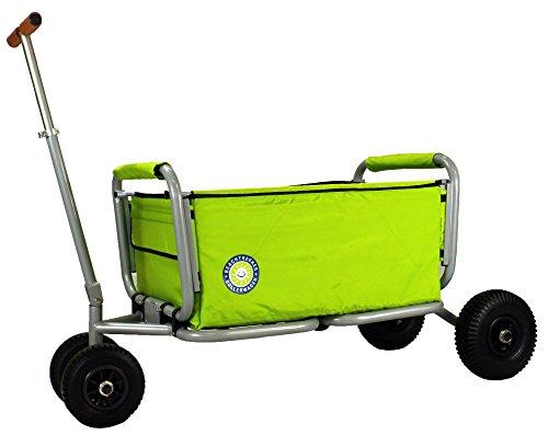 Beachtrekker Life Farbe grün Faltbarer Bollerwagen der Spitzenklasse