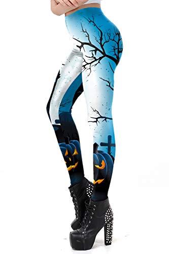 color cosplayer Women's Digital Printed Leggings Yoga Workout Capris Pants