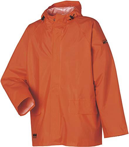Helly Hansen Mandal Jacket 70129 PVC regenjas - 100% waterdicht, XX-Large, ORANJE, 1
