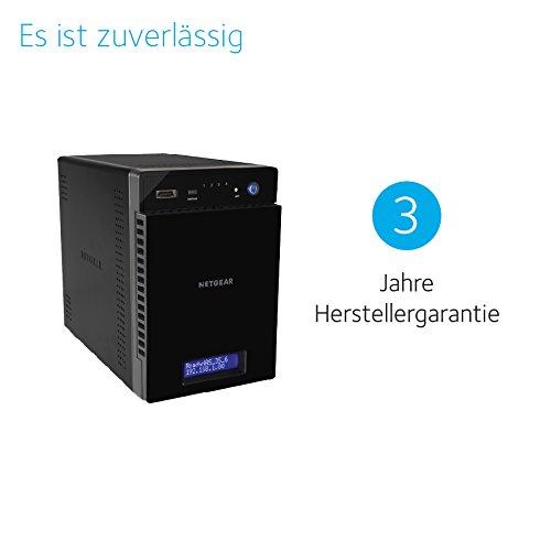NETGEAR RN214D42-100NES 214 D-DISC NAS-System - 7