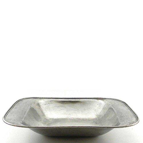 Cavagnini fruitschaal rechthoekig tin medium