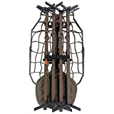 Lone Wolf HRS, Alpha Hunt Ready Treestand System, Climbing Sticks, Quiver, Leveling Function, Mobile Hunting, Outdoor