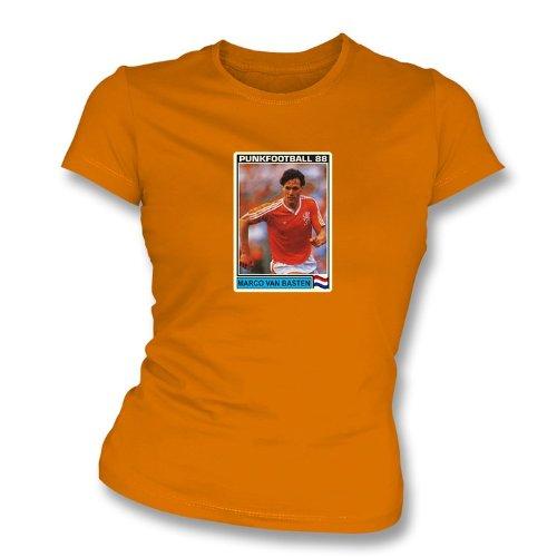 Der Slimfit-T-Shirt orange Frauen Marco van Bastens Holland kleines Weiß 1988