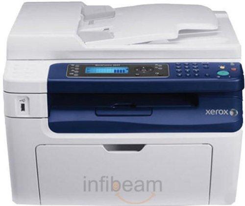XEROX 3045_NI Xerox WorkCentre 3045 Monochrome Multifunction Printer USB LAN W