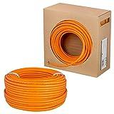 HB-Digital cat 7 Cable de red LAN, velocidad de transferencia de hasta 10 Gbps, cobre profesional S/FTP PIMF LSZH sin halógenos, cumple con RoHS, Categoría 7, AWG 23/1