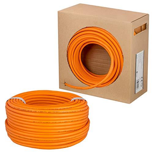HB-DIGITAL 50m cable de red cat 7 cable de instalación LAN velocidad...