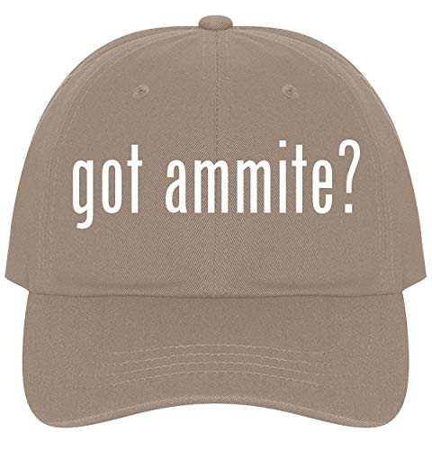 The Town Butler got Ammite? - A Nice Comfortable Adjustable Dad Hat Cap, Khaki