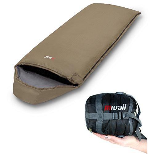 Mivall Patrol Deckenschlafsack, Ultraleicht mit kleinstem Packmaß Reiseschlafsack Sommerschlafsack Leichter Schlafsack