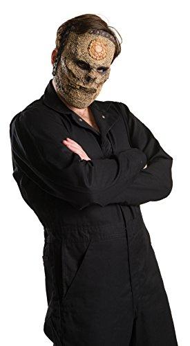 Musical Artist Slipknot Drums Face Costume Half Mask One Size