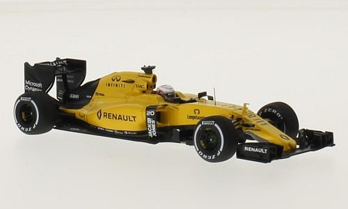 Renault R.S.16, No.20, Sport Formula Un Team, Fórmula 1, GP Australia, 2016, coche en miniatura, ya montado, Spark 1:43