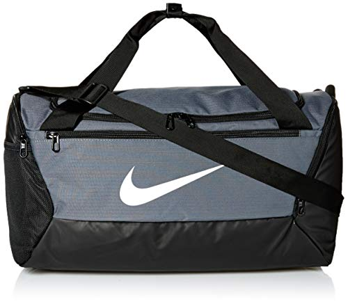 Nike NK BRSLA S DUFF - 9.0 (41L) Gym Bag, Flint Grey/Black/(White), MISC