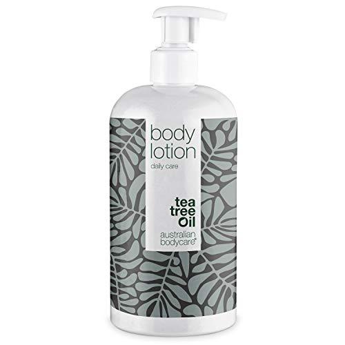 Australian Bodycare Body Lotion 500ml | Teebaumöl Körperlotion für Männer & Frauen bei Unreiner & Trockener Haut, Pickeln, Juckreiz, Schweißgeruch | Auch zur Pflege bei Pilzinfektionen, Ringelflechte