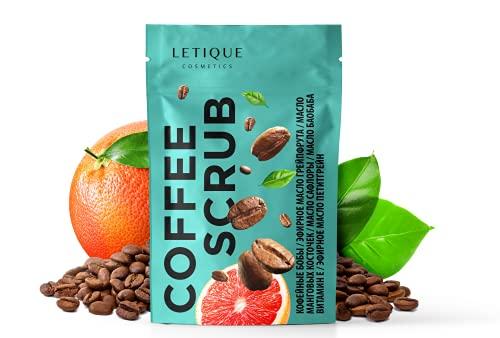 Letique Cosmetics Body Scrub COFFEE; 250 g