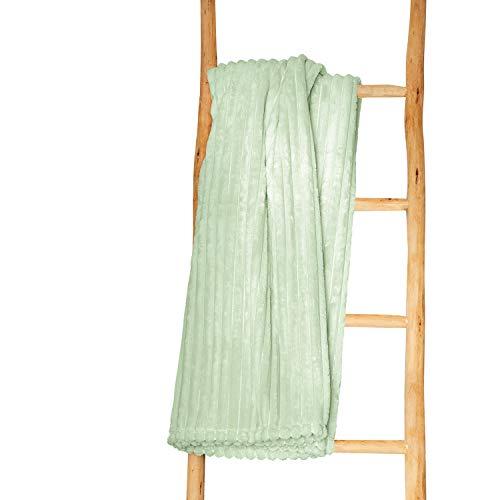 Irisette Wohndecke Versaille grün, 160x220 cm