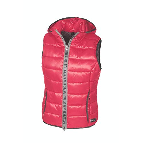 Pikeur Sale Damen New Generation Steppweste GIL mit Kapuze, Rouge red, 36