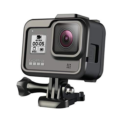Flycoo2 Rahmen für GoPro Hero 8 Black Action Camera Frame Box Cold Shoe Expansion Kit Zubehör